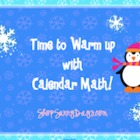 December SMARTboard Calendar Math