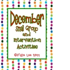 December Small Groups and Intervention