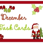 December Task Cards