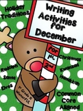 December Writing Activities for 1st-2nd Grade