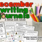 December Writing Center Task Cards
