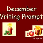 December Writing Prompts Power Point