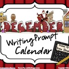 December and Winter Writing Prompt Calendar ~ {Common Core