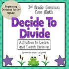 Common Core Division for Third Grade