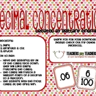 Decimal Concentration Game