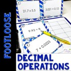 Decimal Operations Footloose and Problem Solving