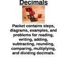 Decimal Packet 5th/6th Grade-Aligned to Common Core