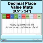 Decimal Place Value Mats: Montessori-inspired