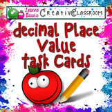 Decimal Place Value Task Cards