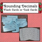Decimal Rounding Flash Cards