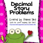 Decimal Story Problems