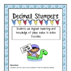Decimal Stumpers
