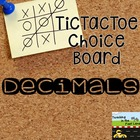 Decimal TicTacToe Extension Activities