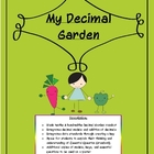 Decimals, Models: My Decimal Garden