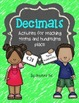 Decimals Packet: Activities for Tenths and Hundredths