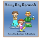 Decimals to Fractions Game