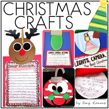 Deck the... Classroom!  (4 easy Christmas crafts)