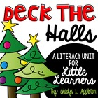 Deck the Halls {Literacy and Writing Activities for Little
