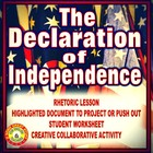 Declaration of Independence Presentation and Activity