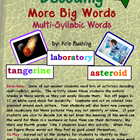 Decoding Multi-Syllabic Words