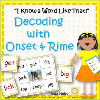 Decoding with Onset & Rime: I Know a Word Like That!