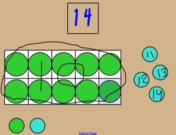 Decompose/Compose Using Ten Frames 11-19