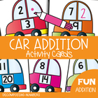 Decomposing Numbers - Write and Wipe Cards - Car Addition