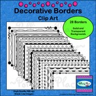Decorative Borders Clip Art
