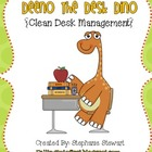Deeno The {Clean} Desk Dino