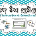 Deep Sea Fishing :  A Ten-Frame Game {Common Core Activity}