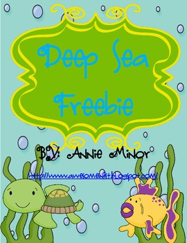 Deep Sea Freebie