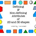 Defining Non-Defining Attributes of 2d &amp; 3d Shapes SmartBo