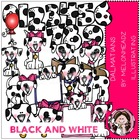 Deluxe Dalmatian bundle by melonheadz black and white