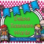 Deluxe Nonsense Words