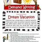 Demand Writing Prompt, Rubric, Examples, Lesson Plan