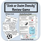 Density Game &quot;Sink or Swim&quot; Review Activity