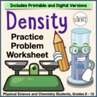 Density Practice Problems
