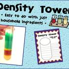 Density Tower Worksheet