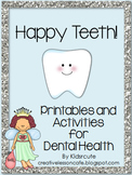Dental Health Activities-Happy Teeth!