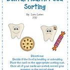 Dental Health Food Sorting