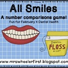 Dental Health Greater Than/Less Than Game