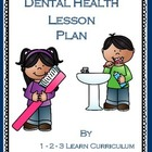 Dental Health Lesson Plan
