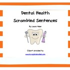 Dental Health Sentence Scramble
