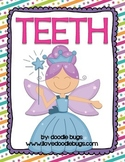 Dental Health / Teeth Literacy Centers & Activities