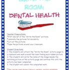 Dental Health - Write the Room Activity