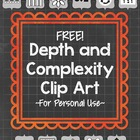 Depth and Complexity Clip Art {Free!}
