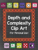 Depth and Complexity Clip Art {Personal Use}