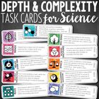 Depth and Complexity Task Cards {Science}
