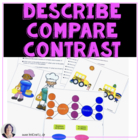 Describe, Compare, Contrast for Speech Therapy, Special Ed