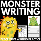 Descriptive Monster Paragraph Writing and 3D Monster Creation!